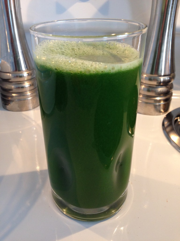 Kale, Celery, Cucumber, Green Apple, Lemon, Ginger